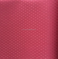 100% polyester diamond red dot jacquard oxford cloth