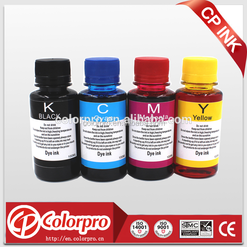 dye ink for canon 670 671 empty refillable ink cartridge and CISS 100ML refill ink