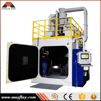 Mayflay Four Station Robot Lead Shot Blasting Machine