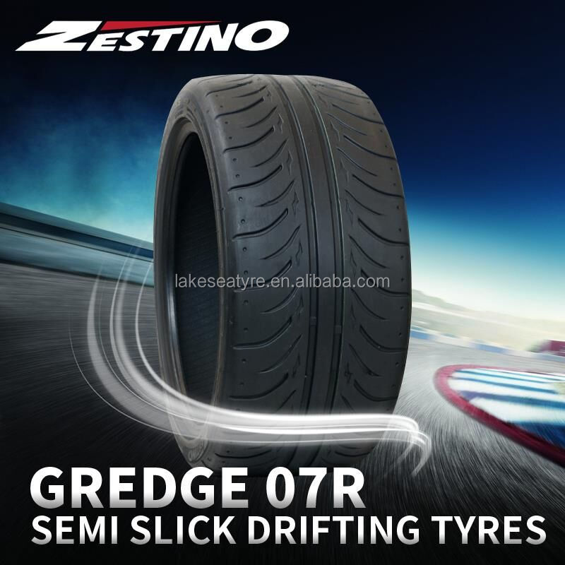 "17"" radial semi slick drifting car tyres for 235/45ZR17 235/40ZR17"