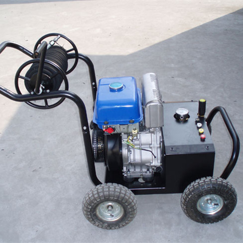 Professional 2.5 gpm trailer mounted high pressure washer RS-CR900