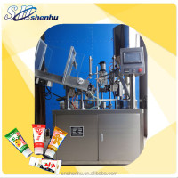 soft plastic tube sealing machine with cutting