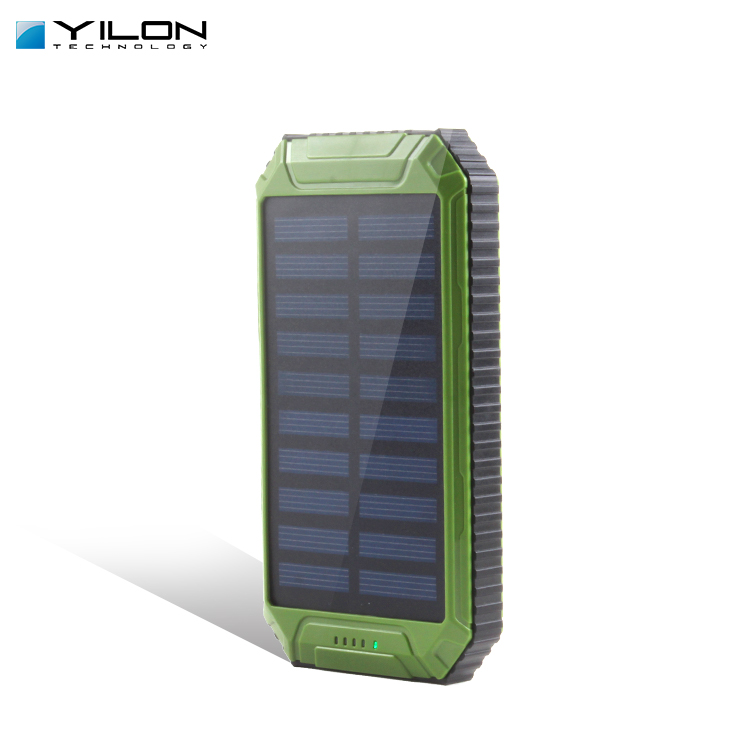 8000mah Solar LED Phone Charger