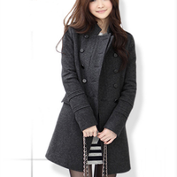 WA9239 hefei factory women winter coat cheap lady coats