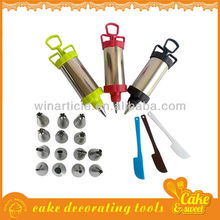 Stainless steel Cake decoration dessert decorator plus
