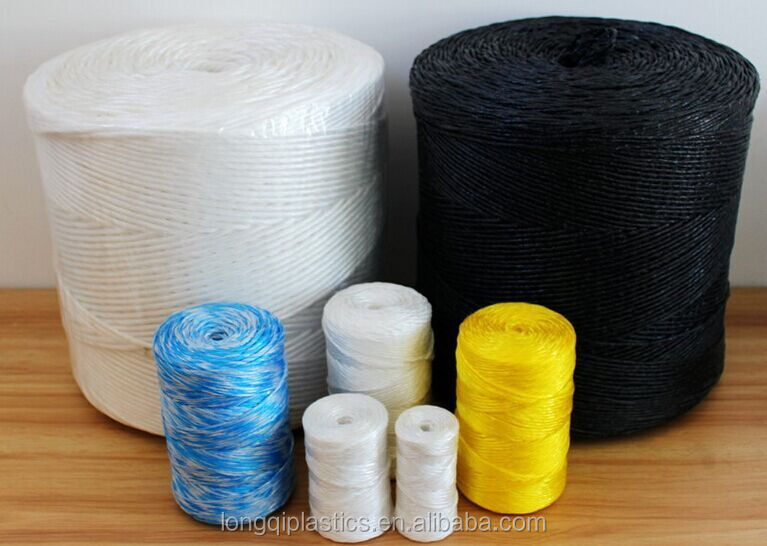 Mini round Polypropylene hay baler / sisal twine and rope