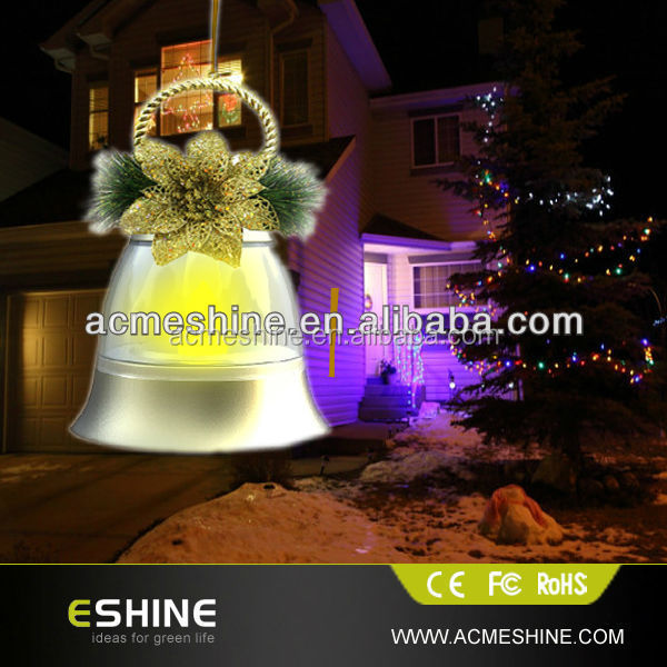 Delighted for Christmas / Holiday Suspension Bell Music Lamp