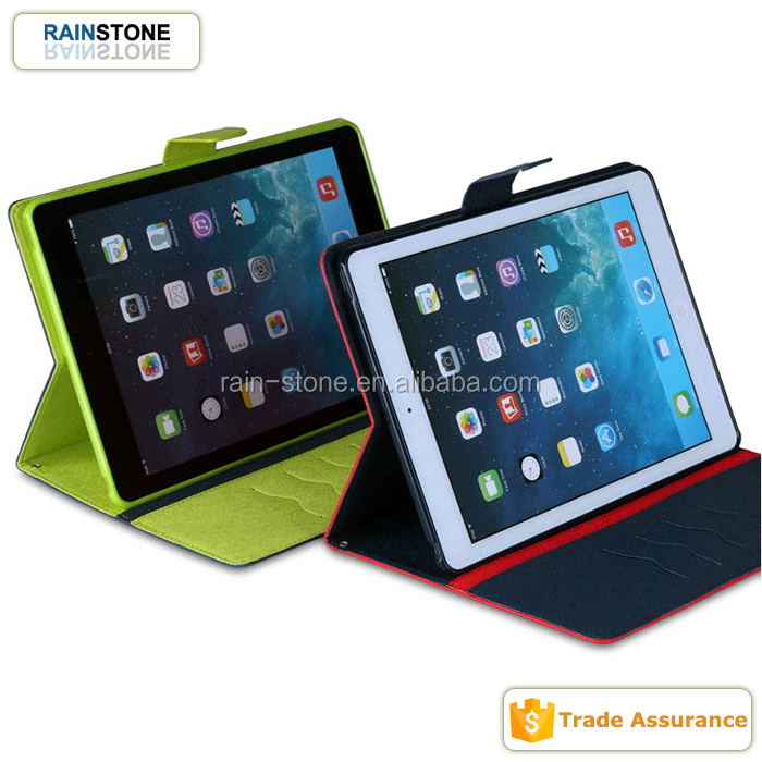 Popular mercury leather flip case for apple ipad 2 case cover