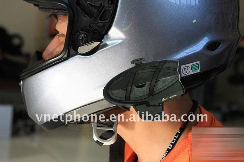 Special UFO shape 500m Helmet Intercom, MP3 Connection/FM Radio/GPS Bluetooth Motorcycle Interphone