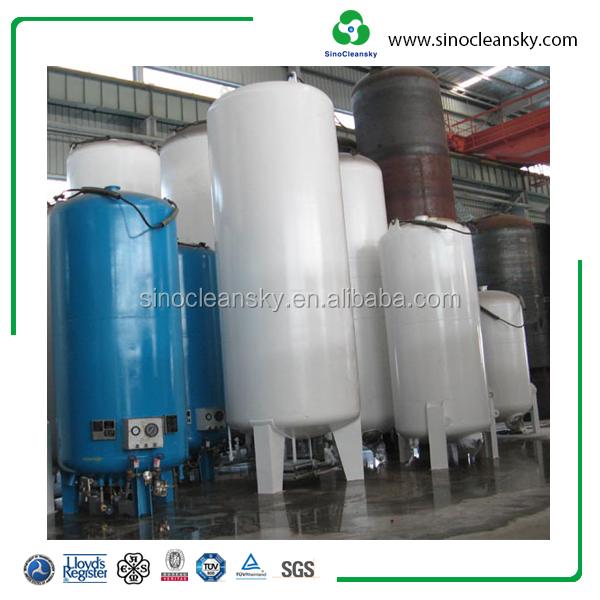 Horizontal Liquid Nitrogen Oxygen Storage Tanks Best Price