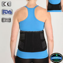 2014 new design pain relief back support belt as see as on tv