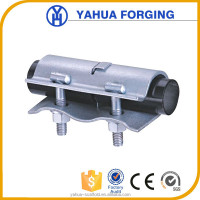 Cast iron high temp pipe sleeve clamp