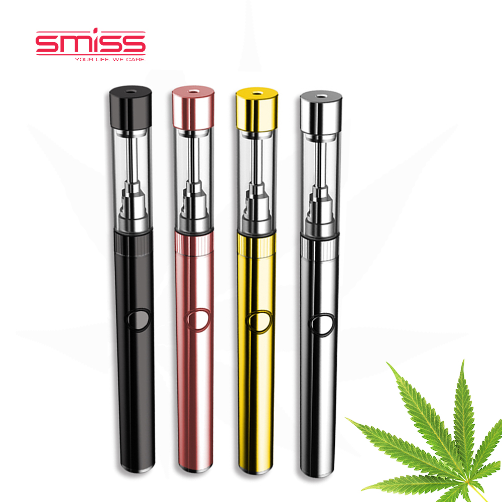 2017 E Cigarette Cannabidiol Liquido Thc Oil Cartridge Smiss MKB