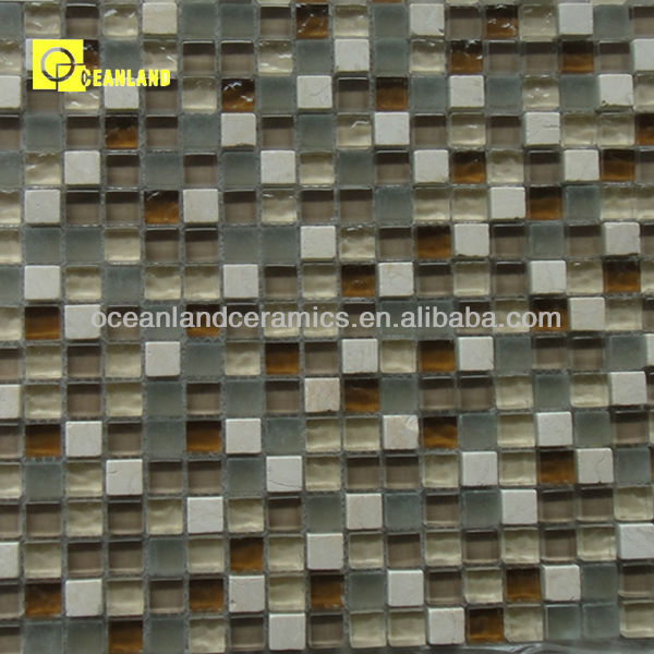 seashell mosaic recycled daltile glass mosaic tile foshan