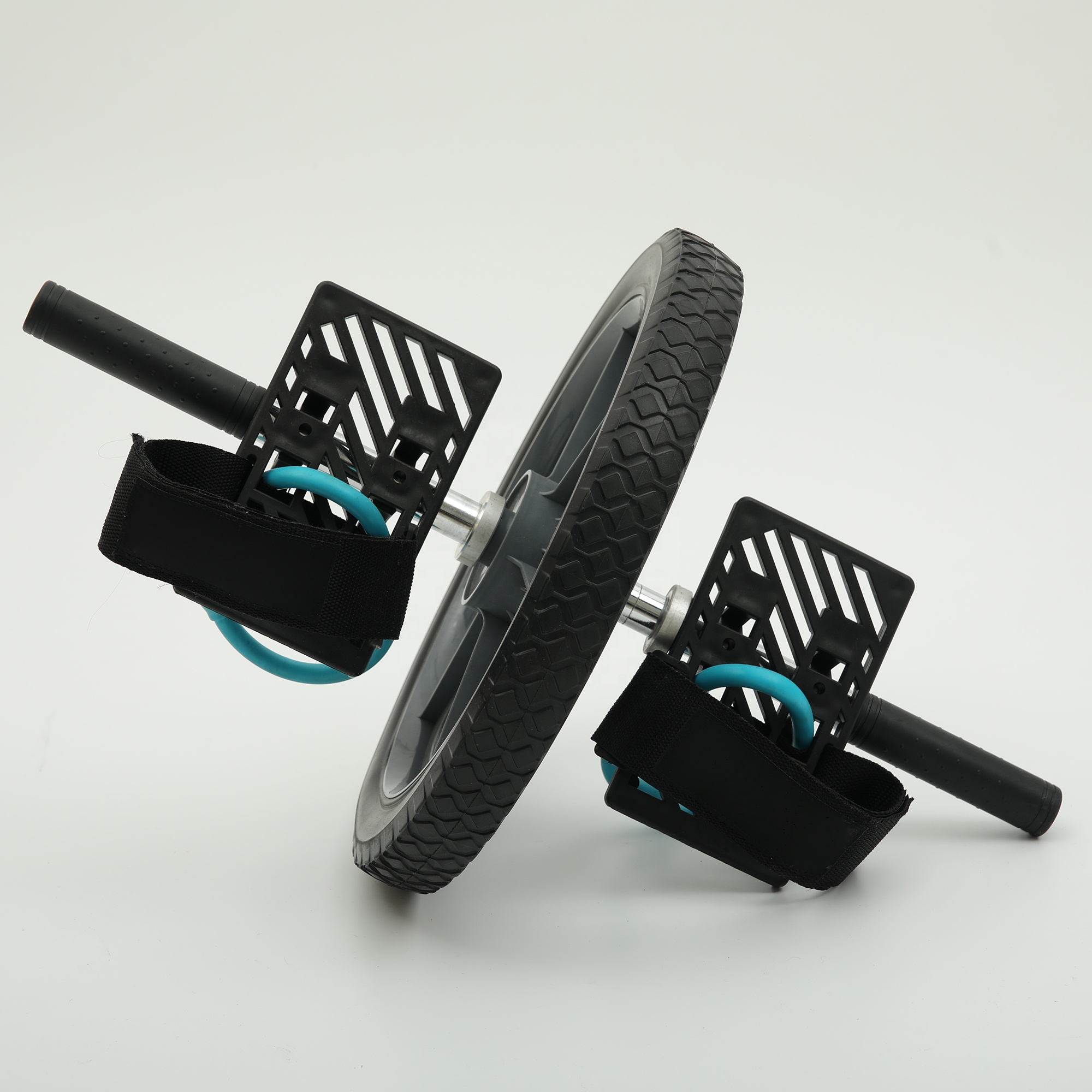 2019 Hot sale Dual Ab/ABS Wheel For Abdominal Roller Workout Exercise <strong>Fitness</strong>