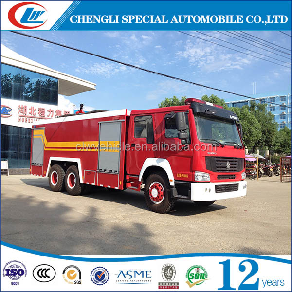 DONGFENG 6000Liters water tank foam fire fighting engine for sale