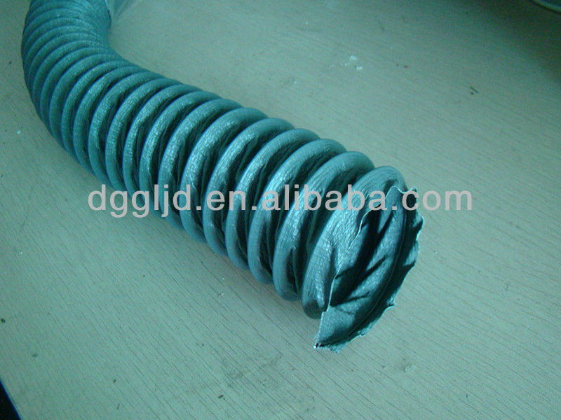nylon plastic flexible ventilation hvac ducting