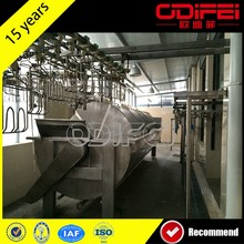 Chicken meat processing equipment