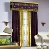New home decor luxury living room indian style curtains