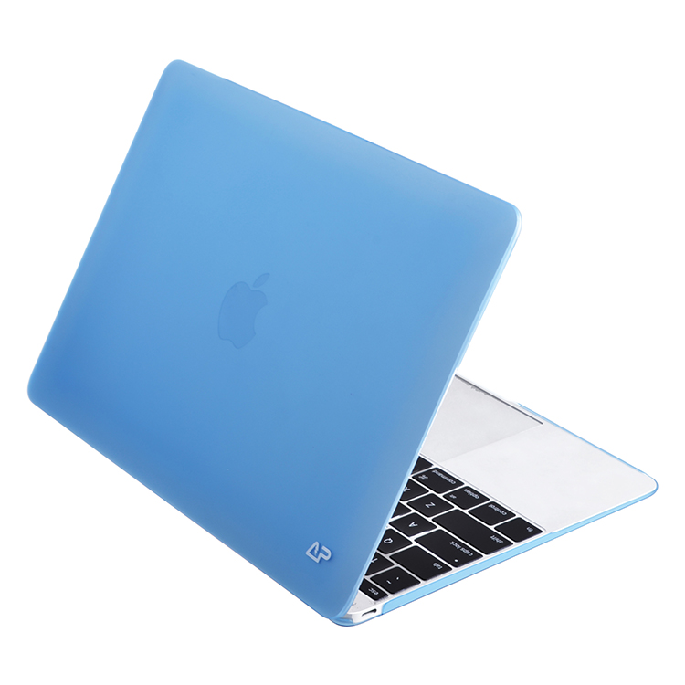 Protective rubberized PC material hard case for Macbook Air 12