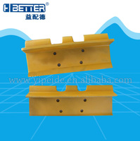earth moving machinery spare parts High Hardness track shoe