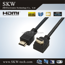 90 degree High Speed with Ethernet HDMI cable for TV
