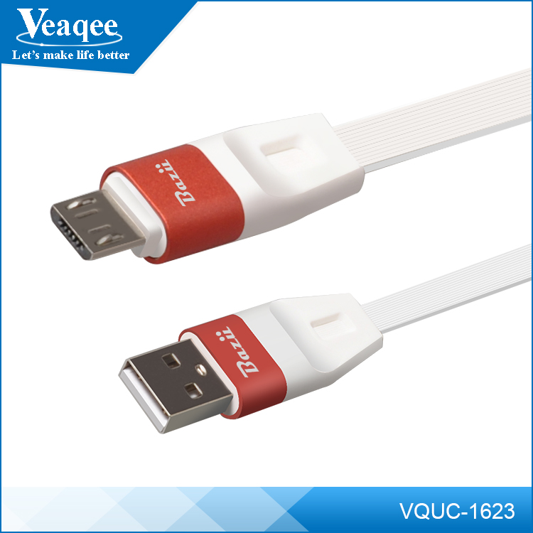 Veaqee factory wholesale data charging line two sided usb cable