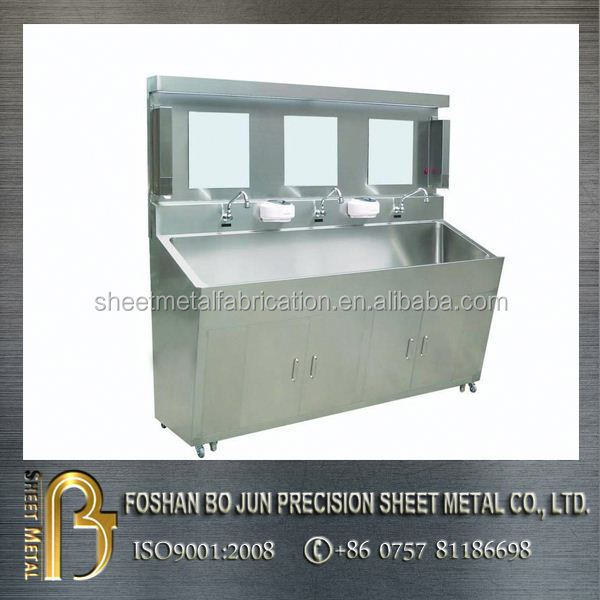 custom fabrication movable stainless steel washing sink products made in china manufacturer