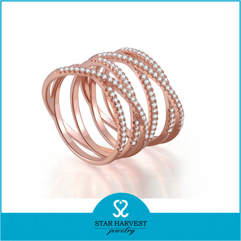 sterling silver material latest gold finger ring designs in hotsale