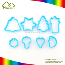 Lovely Different Shaped Bakeware Cake Mold Kitchen Plastic Cookie Cutter