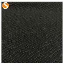 Polyester Spandex Seersucker Jacquard Knitted Fabric for Apparel