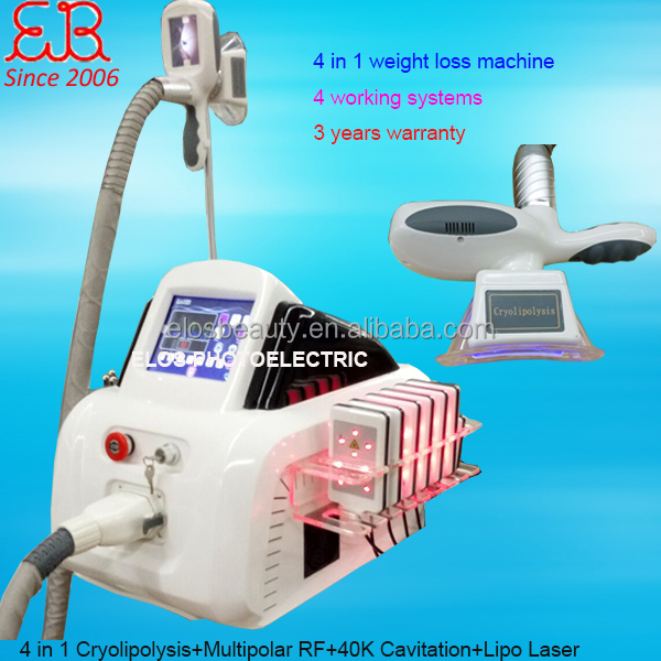 Fat Reduction Cryolipolysis Device / Salon use cryo slimming machine