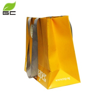 Wholesale Cheap Price Custom China Jewelry Wedding Gift Paper Ribbon Bag Manufactures With Logo