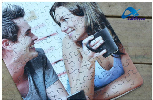 2013 new Promotional educational Paper Magnetic Puzzle