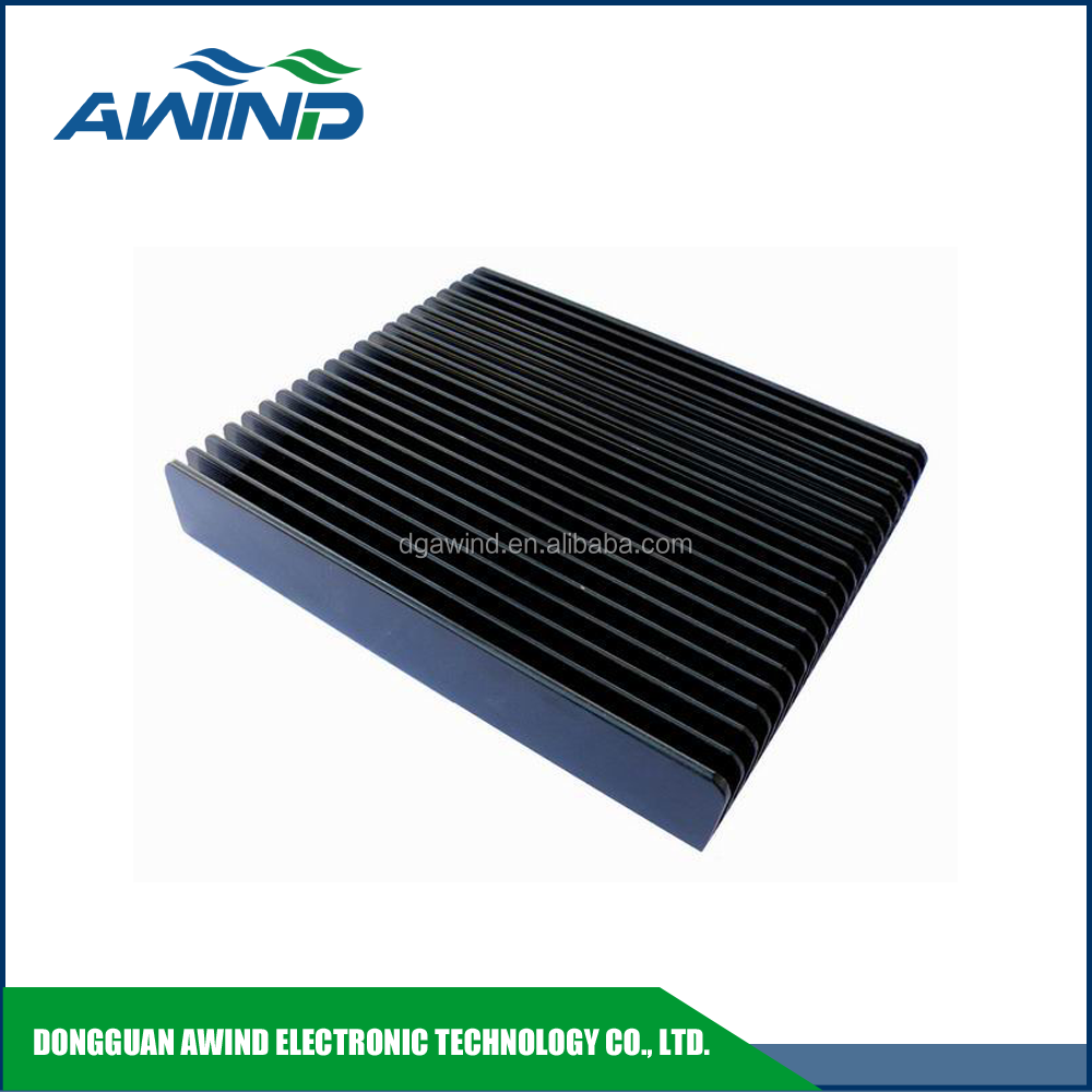 customized aluminum extrusion heat sink enclosure