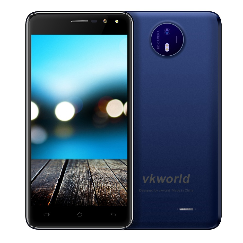 VKWORLD F2 Cheapest High Quality 3G Cheap Phone 5inch Screen Android 7.0 Smartphone Ram2G Rom16G wholesale China Mobile Phone