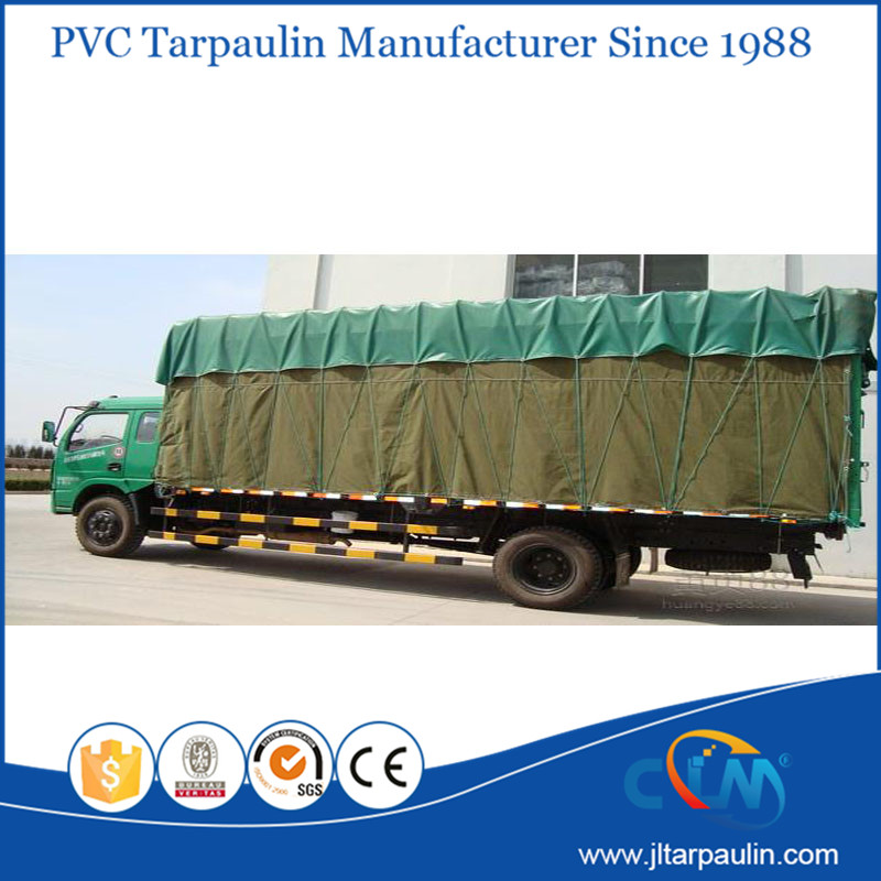 flame resistance PVC truck cover tarpaulin