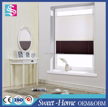 MEIJIA Double Pleated Blinds / Cordless Pleated Blinds / Pleated Blinds Fabric