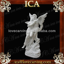 man and women fly statue marble RCO0148