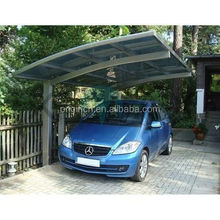 Carport with arched roof garage storage metal roof canopy