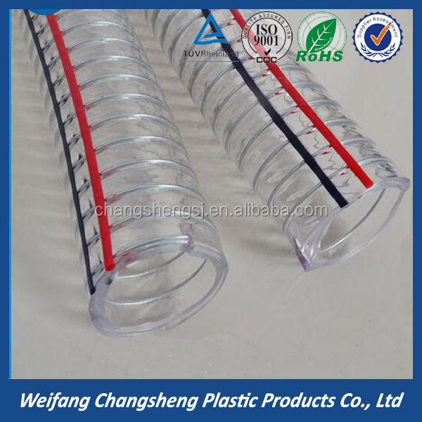 High Pressure PVC Steel Wire Reinforced Spring Hose