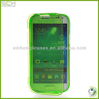 Touch screen cover for samsung galaxy s4 blank flip case