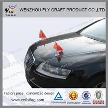 advertising promotional suction cup car flag-cheapest car flag