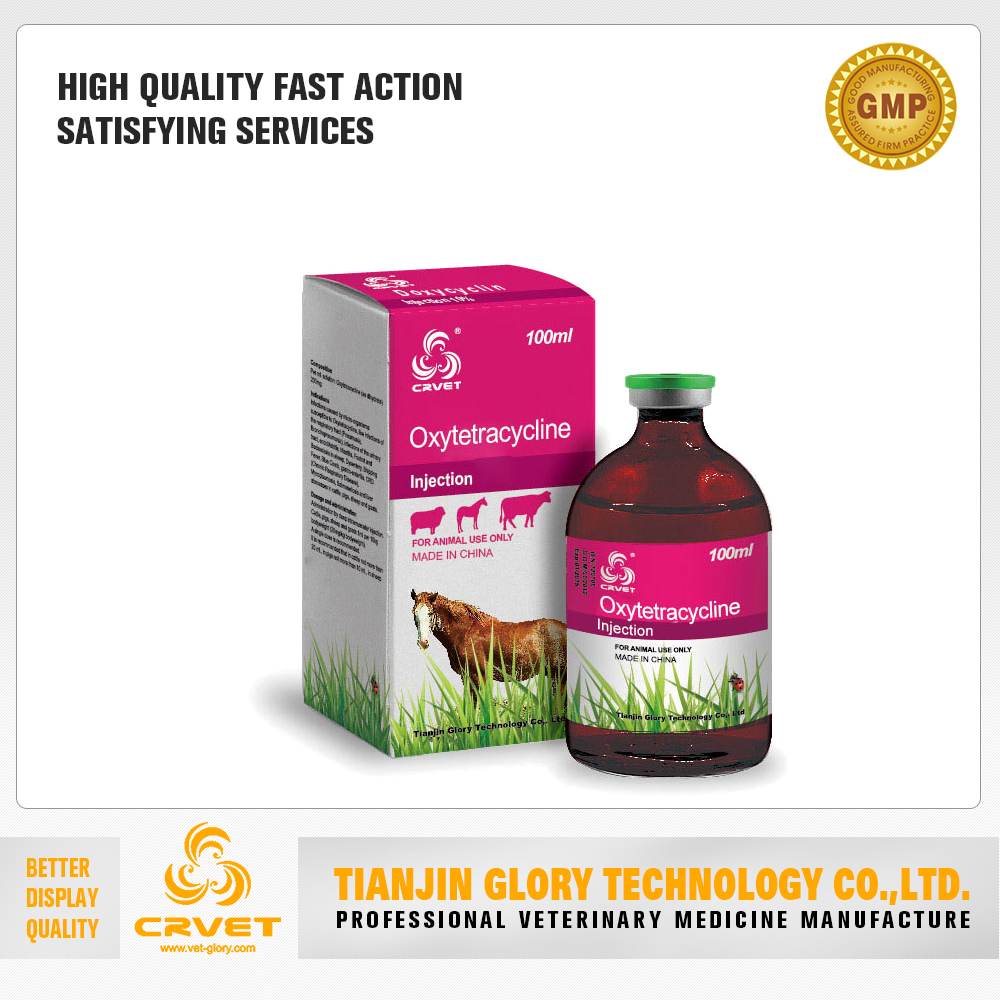 Long Acting Oxytetracycline Injection For Cattle Sheep Pig