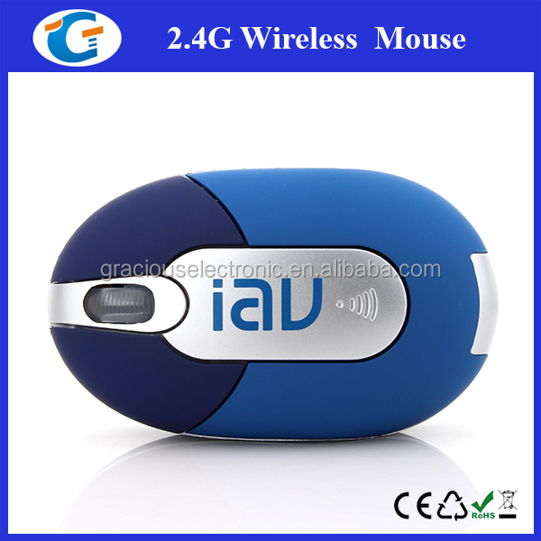 Custom Logo PC Wireless Laptop Mini Optical 3D Travel Mouse