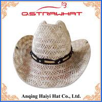 High quality HYSH142 cheap free patterns knitted newborn cowboy hat