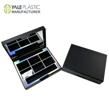 wholesale OEM ODM square custom empty 6 eyeshadow palette packaging