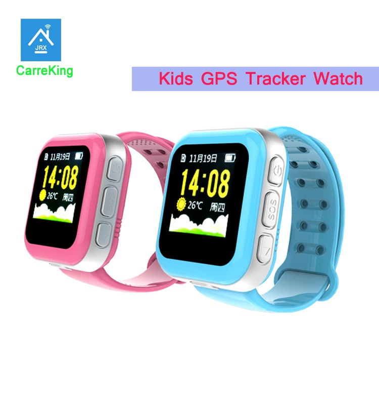 Position monitoring kids gps watch phone /Sos calling kids GPS tracker gps tracker without sim card