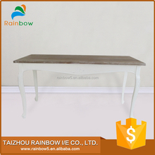 Reasonable price small wood end dining tables wooden