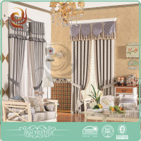 Best selling High grade Custom bathroom cafe curtains